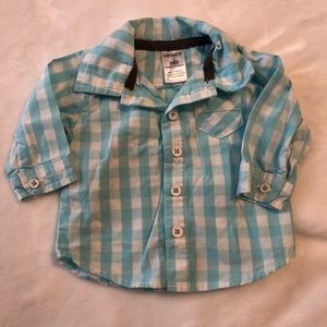 Caters baby boy button up